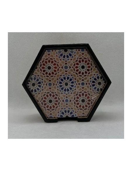 Pack Posavasos Taracea Mosaicos Alhambra