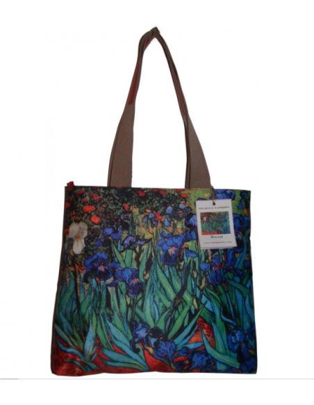 Piel - Seda . Colección LOS LIRIOS Vincent Van Gogh